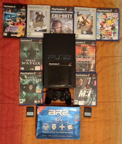 Ps2 + Giochi + Acessori + Action Replay