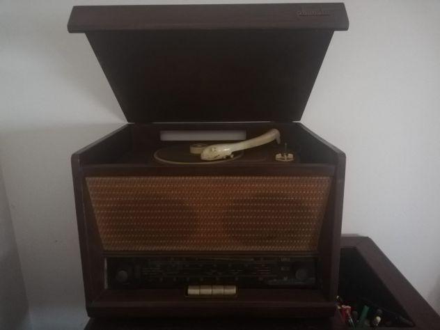 RADIO CON GIRADISCHI D'EPOCA PHONOLA ANNI