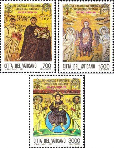Francobolli nuovi annata 1994 Vaticano - Foto 9