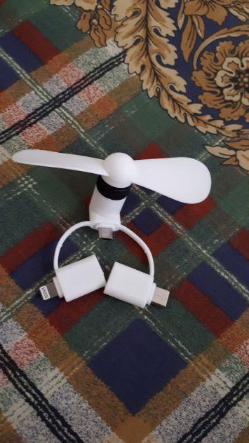 Mini ventilatore per cellulare