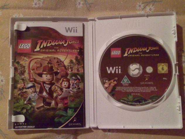 Vendo Lego Indiana Jones The original adventures Wii Pal usato - Foto 3