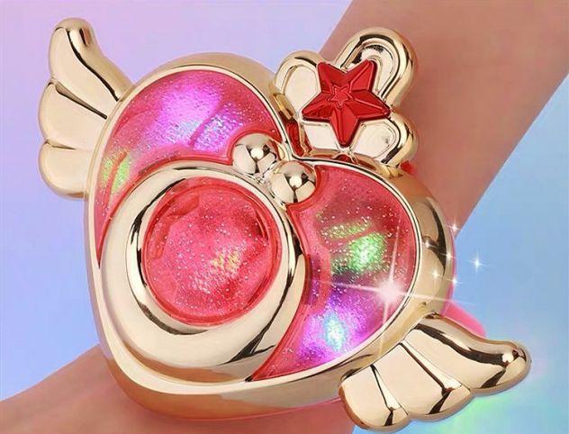 Sailor moon spilla ciondolo bandai mirror clone bootleg vintage cosplay proplica