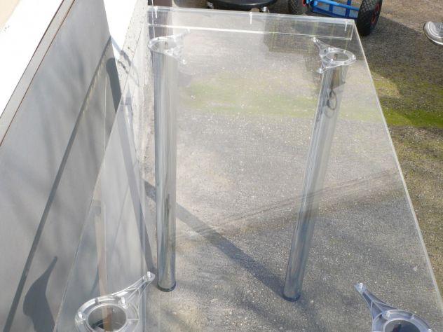 Tavoli plexiglass con gambe cromate design expo - Foto 5