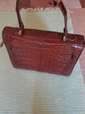 Vendo borsetta vero coccodrillo Annunci Genova