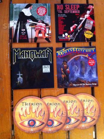 Lotto 4 CD Metal Collezione