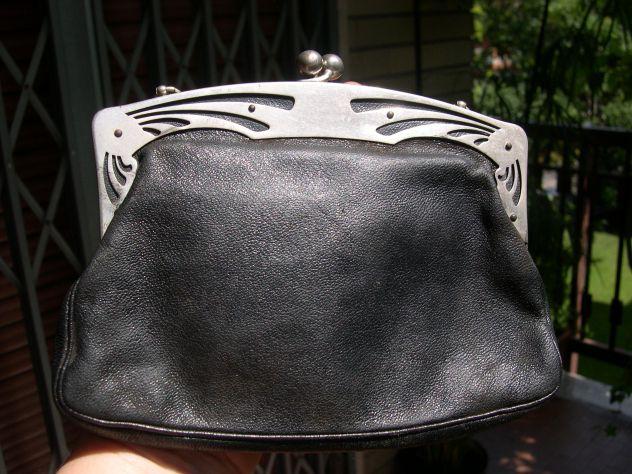 Antica borsetta Liberty, borsetta vintage, pochette
