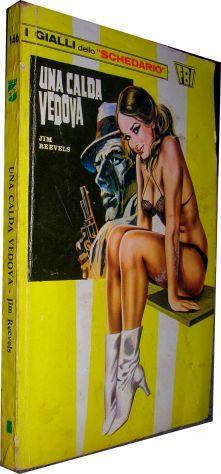 I gialli dello schedario 146 Una calda vedova Jim Reevels  Editore: Wamp anno 19