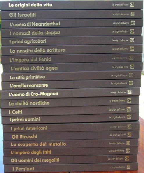 Le origini dell 'uomo Armando Curcio Editore anno 1980 formato 23,5x26,6 co …