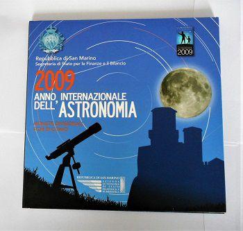 Rep. Di San Marino-Monete Divisionali FDC-anno 2009