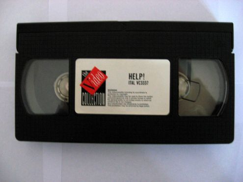 Originale videocassetta VHS WHIT THE BEATLES HELP! - Foto 3