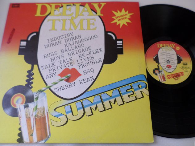 DEE JAY TIME - Summer Mixed Compilation - LP / 33 giri 1984