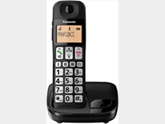 Beltel - Panasonic Kx-tge110jtb Telefono Cordless Digital Nuovo Sottocosto