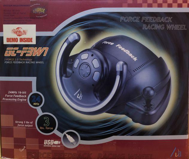 AVB Force Feedback USB Racing Wheel