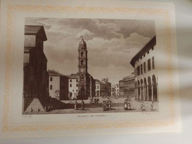 Stampe pregiate (16 PEZZI) con soggetti fine 800 di luoghi della Romagna