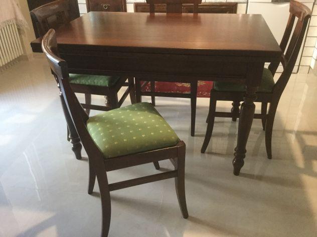 Offro tavolo allungabile in legno massiccio - Foto 5