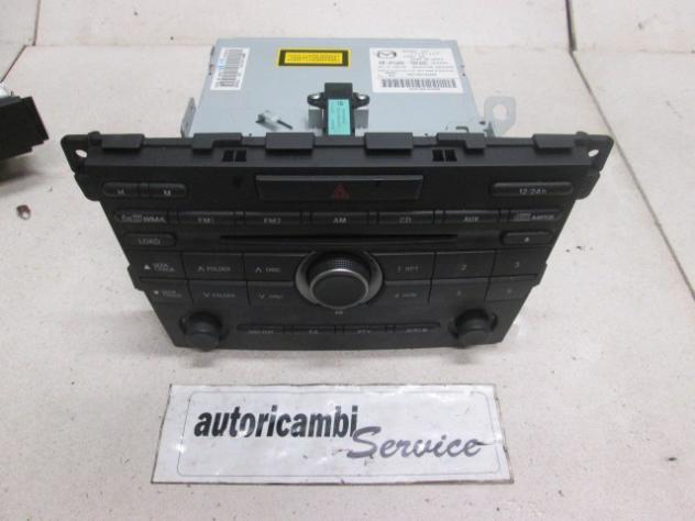 MAZDA CX-7 2.2 D 6M 4WD 127KW (2010) RICAMBIO AUTORADIO CON LETTORE CD (NON …