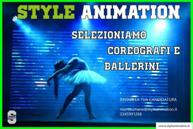 Animazione - Ballerini - Coreografi