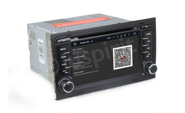 ANDROID 5.1 GPS 2 din autoradio navigatore Audi A4 S4 RS4 Seat Exeo - Foto 7