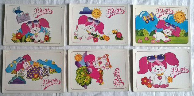 ( G&B ) Cartoline: Lotto 6 pz. serie Poochie