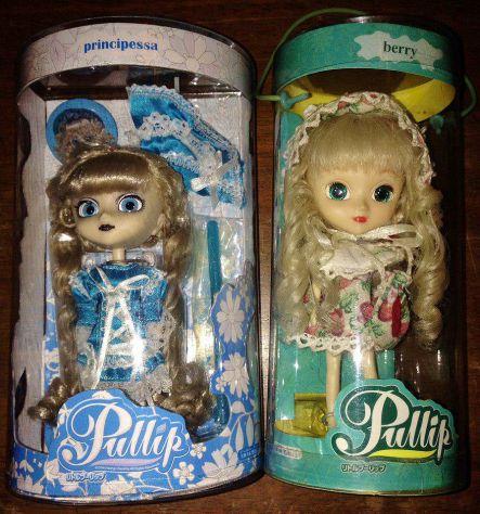 SET 2 BAMBOLE PULLIP PRINCIPESSA BERRY da collezione lotto japan doll blythe