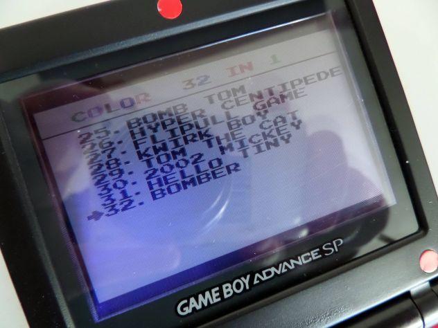 Cartuccia Game Boy Color / Advance. Multigioco 32 giochi in 1 - Foto 3