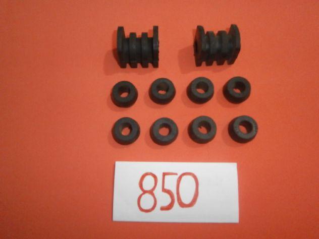 Tasselli e boccole barra stabilizzatrice Fiat 850 sport spider special NUOVI
