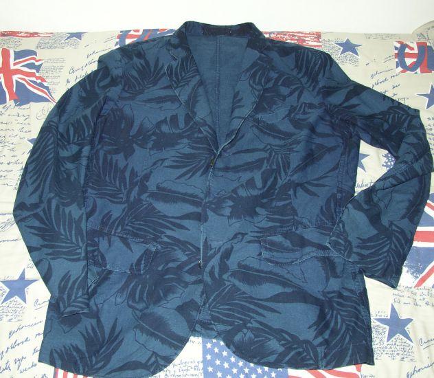 Montedoro giacca cotone blu