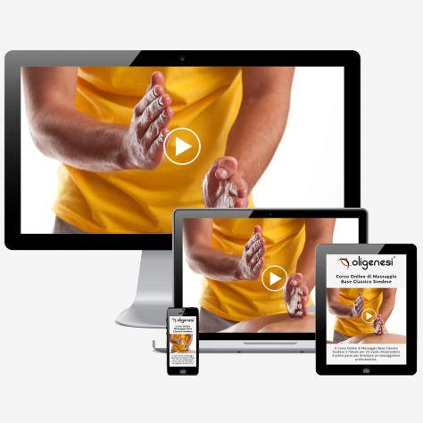 Video Corso di Massaggio Online Base Classico Svedese