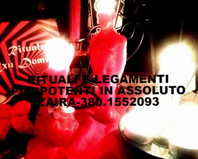 Consulente Esoterica. Ritualista di Alta Magia, Max serietà. 380.1552093