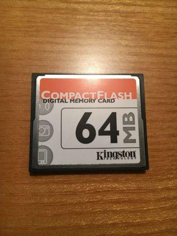 Compact Flash da 64/128GB