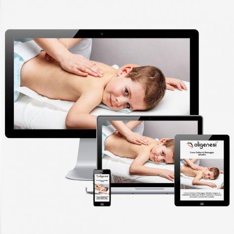 Il Video Corso Online di Massaggio Infantile ti permette di apprendere un tratta