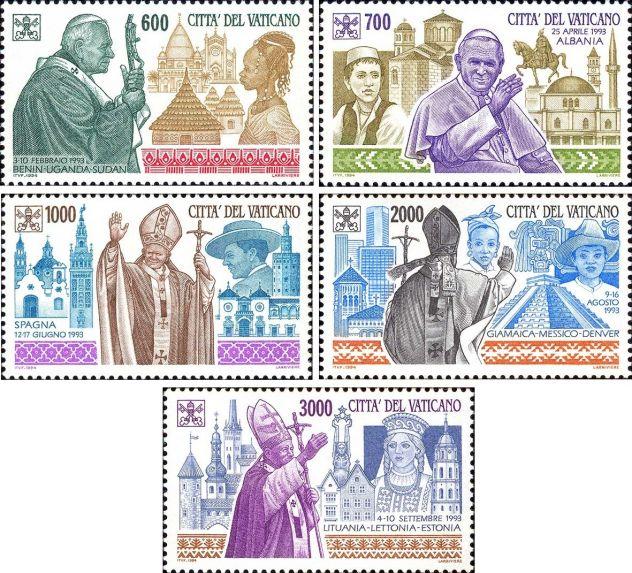 Francobolli nuovi annata 1994 Vaticano - Foto 10