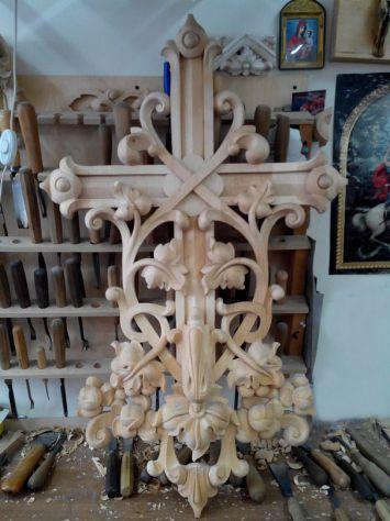 Intaglio e restauro scultoreo in legno - Foto 3