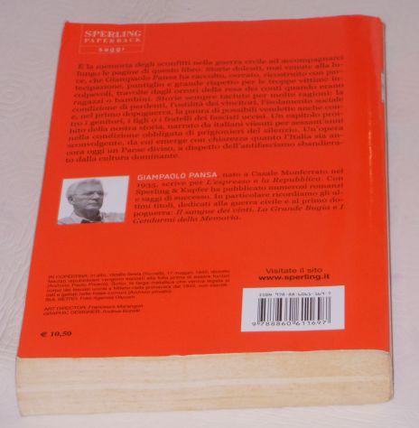 SCONOSCIUTO 1945, GIAMPAOLO PANSA, SPERLING PAPERBACK 2007. - Foto 3