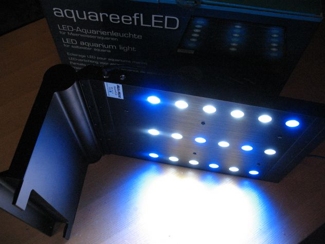 Plafoniera Led 120 Cm Acquario : Plafoniera led acquario aquamedic aquareefled annunci milano