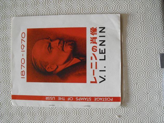 Raccolta francobolli Lenin 1870-1970