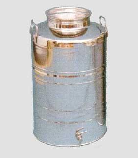 Fusto olio inox fondo graffato 30 litri - Ferramenta Cardelli