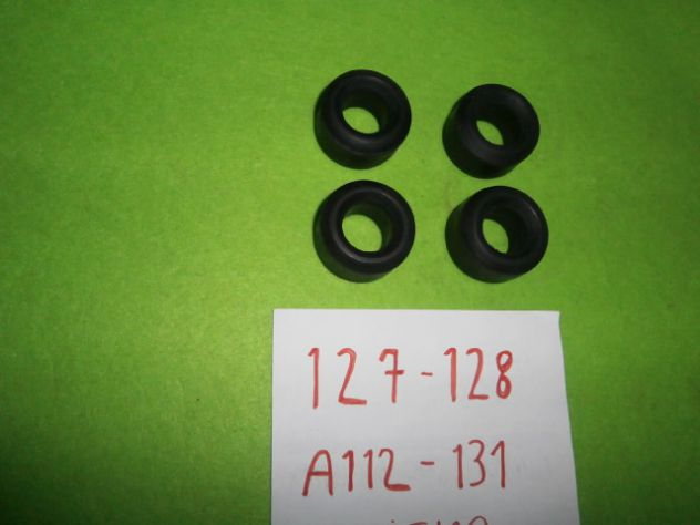 Boccole barra stabilizzatrice Fiat 127 128 131 Autobianchi A112 NUOVE  (4 pz) - Foto 4
