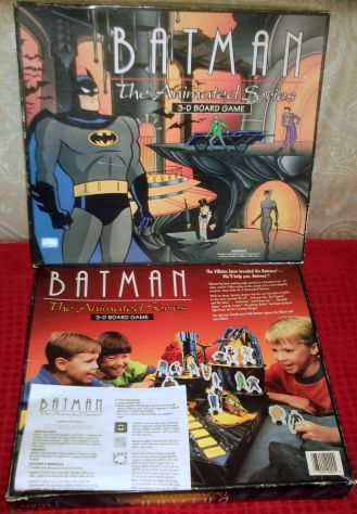 Batman the animated series 3D board game Parker. Raro.