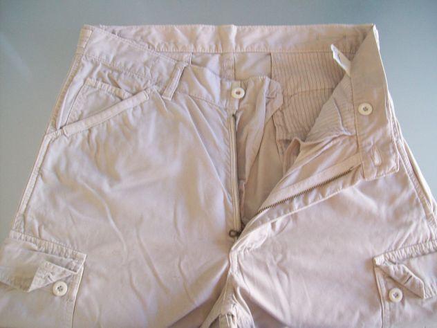 Pantalone Blu Navy country con bottoni x zampa M48