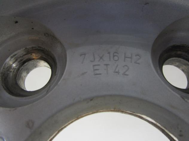 SET 4 CERCHI IN LEGA DA 16 POLLICI AUDI A4 AVANT 3.0 150KW SW D AUT (2008)  … - Foto 6