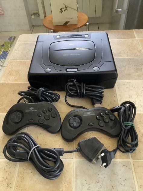 Console Sega Saturn + giochi