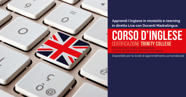 Corso d'Inglese on-line