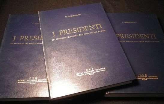 I PRESIDENTI DEL CONSIGLIO DEI MINISTRI DALL'UNITA AD OGGI - Foto 2