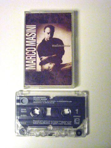 Musicassetta originale del 1991-Marco Masini-MALINCONOIA