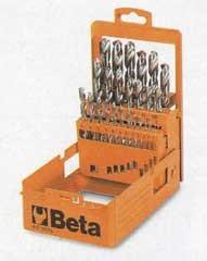 Serie di 25 punte Beta 412E/SP25D - Cardelli