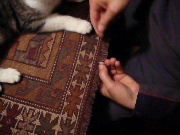 Pulizia tappeti Trieste, lavaggio e restauro tappeti persiani Trieste - Foto 9