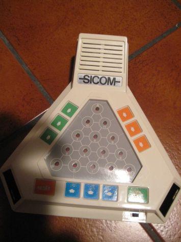 GIOCO ELETTRONICO DIDATTICO SICOM -16 ANNI '80 MADE IN JAPAN