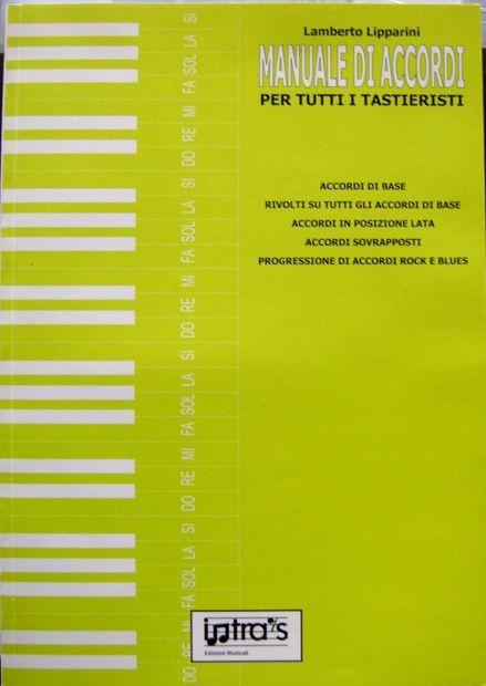 Lamberto Lipparini MANUALE DI ACCORDI per tuttii tastieristi