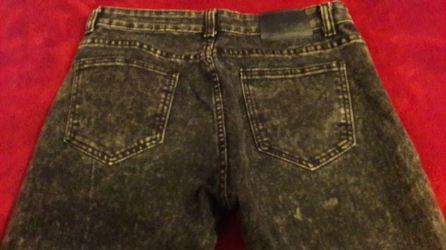 Jeans effetto neve grigio Scuro Tg 46 - NUOVI - Foto 3